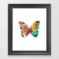 Mesmering Butterfly Framed Art Print