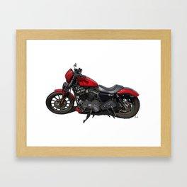 Harley original artwork Framed Art Print