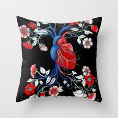Romantic Anatomy Throw Pillow