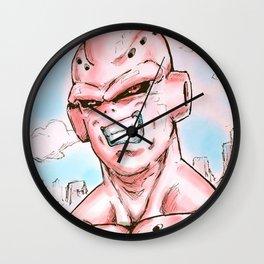 Evil Buu Wall Clock