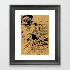 dithering 17 Framed Art Print