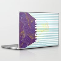 good vibes Laptop & iPad Skins featuring GOOD VIBES by Urban Artist