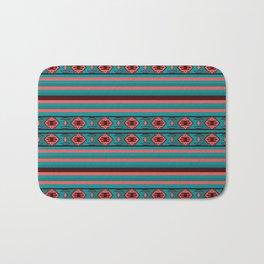 Ethnic Bohemian Kilim Style Pattern 2 Bath Mat