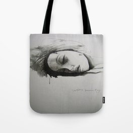 sleeping beauty Tote Bag