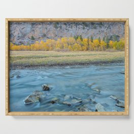Autumn Aspens at Rush Creek Serving Tray