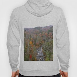 Fall Forest, Vertical Hoody