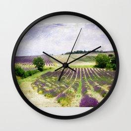 Air Lavande Wall Clock