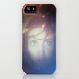 Before & After Dunes: Self Portrait iPhone Case