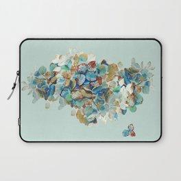 SEAFOAM Hortensia Laptop Sleeve