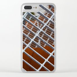 Iron entrance Clear iPhone Case