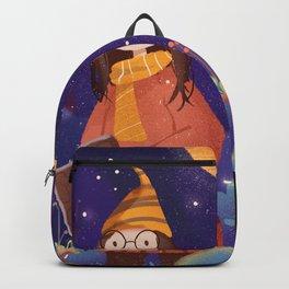 Night Magic Girl Backpack