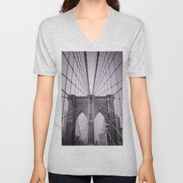 Brooklyn Lines Unisex V-Neck