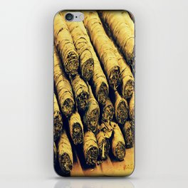 Cigars iPhone Skin