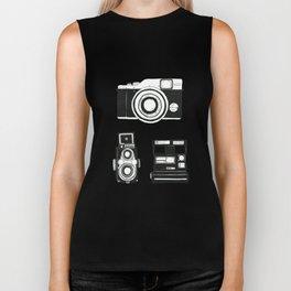 Three cameras. Biker Tank