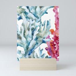 Sea Life Pattern 02 Mini Art Print