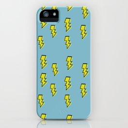 Lightning Print iPhone Case