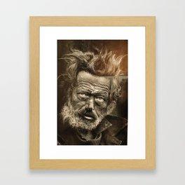 Tramp Framed Art Print
