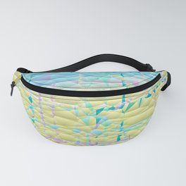 Multi Pastel Quilted Pattern Design Fanny Pack