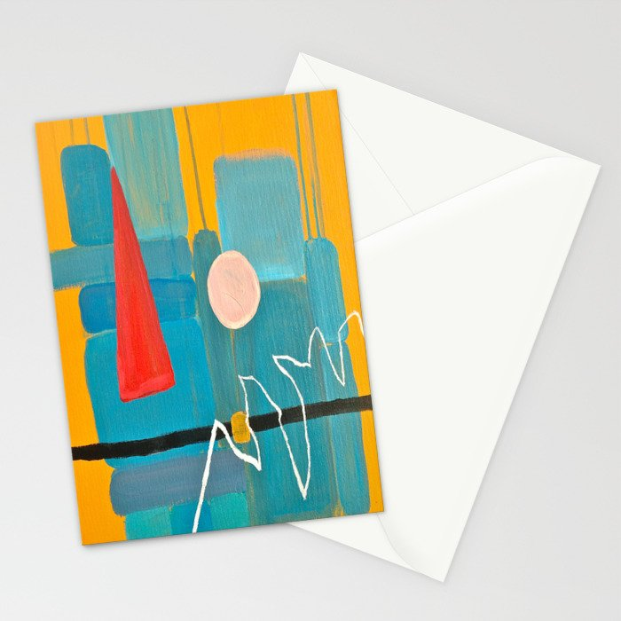 Abstract Study of Gnome (Pt.5) Stationery Cards