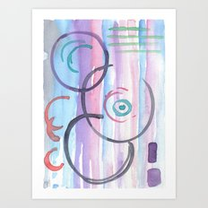 Circle Abstract Art Print