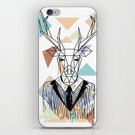 Geometric Deer iPhone Skin