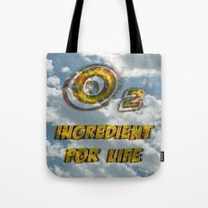Oxygen Ingredient for Life Tote Bag