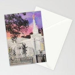 Melbourne Australia LDS Temple Stationery Cards