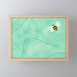 BUZZ OFF Framed Mini Art Print