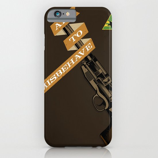 Aim to Misbehave iPhone & iPod Case