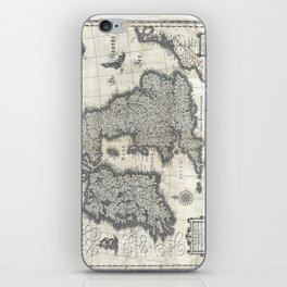 Map of the British Isles - 1631 iPhone Skin