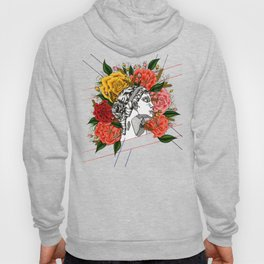 Floral Greek Goddess Hoody