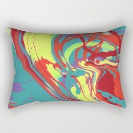 Paint Pouring 48 Rectangular Pillow