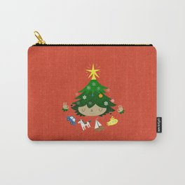 Happy Tree Carry-All Pouch