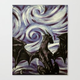 Dark Dragon Canvas Print
