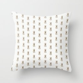 Dottie Unleashed! Throw Pillow