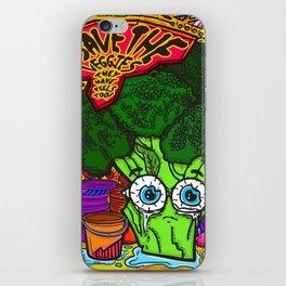 Save the Veggies! - Broccoli iPhone Skin