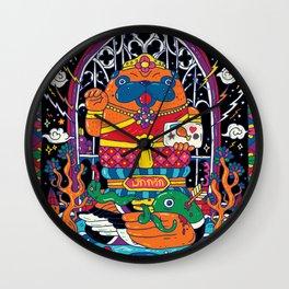 Pug Nang Kwak – Thai Goddess Of Wealth Wall Clock