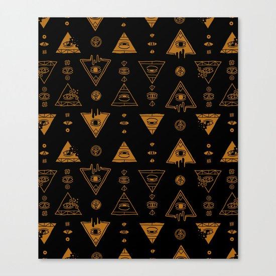 Seeing (Dark) Canvas Print