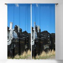 Old Steam Engine - Denver - Rio Grande Railroad Blackout Curtain