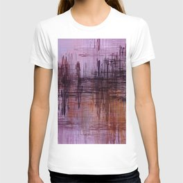 Purple / Violet Painting in Minimalist and Abstract Style T-shirt