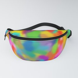 "Rainbow ""Watercolor"" Fanny Pack"