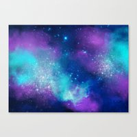 Canvas Prints featuring Universe 04 by Aloke Design
