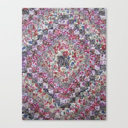 Liberty of London Patchwork Quilt Canvas Print