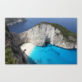 zante ,greece Canvas Print