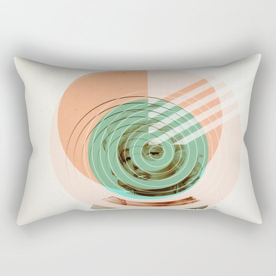 Der Kreis der Erinnerung 2 Rectangular Pillow