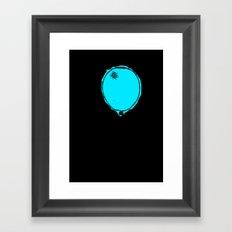 Awkward Balloon Framed Art Print