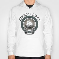 anchors Hoodies featuring Anchors Away by Christina Bautista
