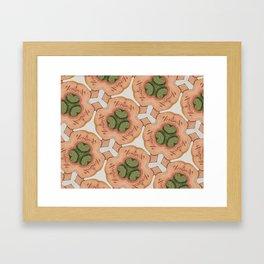 catcus 2 Framed Art Print