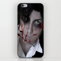 kuroshitsuji iPhone & iPod Skins featuring Claude Faustus by Lalasosu2