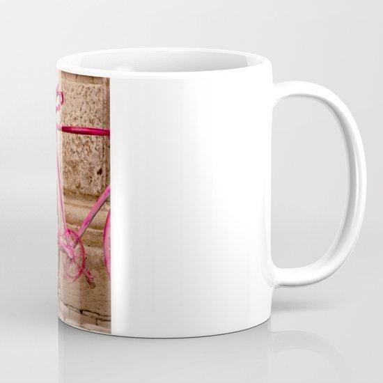 Lady in Pink Mug
